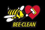 Bee-Clean Logo Frontline Heart